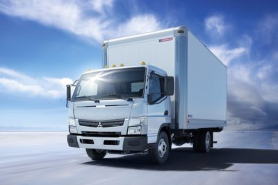 Мебельный фургон Mitsubishi Fuso