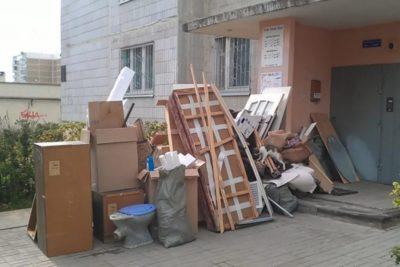 Вывоз старой мебели во Владивостоке